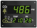31.5002 - Monitor ambiental CO2 Temperatura Humedad TFA