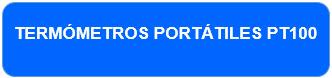 Termómetros Portátiles PT100